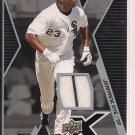 JERMAINE DYE WHITE SOX 2009 UPPER DECK X JERSEY
