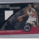 MICHAEL OLOWOKANDI CLIPPERS 2001-02 TOPPS PRISTINE JERSEY