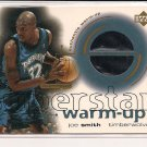 JOE SMITH TIMBERWOLVES 2001 UD SUPERSTAR WARM-UP