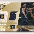 VINCENT YARBROUGH NUGGETS 2002-03 XPECTATIONS JERSEY