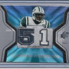JONATHAN VILMA 2007 SPX WINNING MATERIALS JERSEY CARD