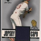OMAR VIZQUEL INDIANS 2001 UD GOLD GLOVE JERSEY CARD