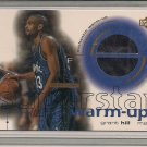 GRANT HILL MAGIC 2001 UD SUPERSTAR WARM-UP CARD