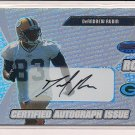 DEANDREW RUBIN PACKERS 2003 BOWMANS BEST RC AUTOGRAPH