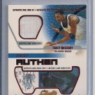 TRACY MCGRADY MAGIC 2002-03 FLEER AUTHENTIX JERSEY