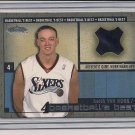 KEITH VAN HORN 76ER'S 2002-03 FLEER BASKETBALL'S BEST JERSEY