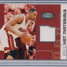 ALONZO MOURNING HEAT 2002-03 HOOPS HOT MATERIALS SHIRT