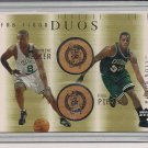 WALKER/PIERCE CELTICS 2002 UD HONOR ROLL FAB FLOOR DUOS