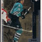 MIKE RICCI SHARKS 1998 UD BLACK DIAMOND TRIPLE DIAMOND
