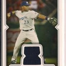 RICKIE WEEKS BREWERS 2008 TOPPS GAME-WORN UNIFORM CARD