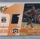 DUJUAN WAGNER CAVALIERS 2002-03 TOPPS XPECATIONS JERSEY