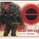 DERMARR JOHNSON HAWKS 2001 UD SUPERSTAR WARM-UP