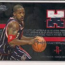 STEVE FRANCIS ROCKETS 2003-04 HOOPS HOT MATERIALS JERSEY