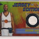BARON DAVIS 2001-02 TOPPS CHROME JERSEY EDITION JERSEY