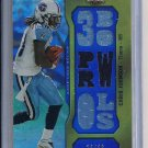 CHRIS JOHNSON TITANS 2011 TOPPS TRIPLE THREADS RELIC #'D 23/36!