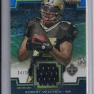 ROBERT MEACHEM SAINTS 2011 TOPPS TRIPLE THREADS RELIC #'D 14/36!