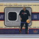 VINCE CARTER RAPTORS 2002-03 FLEER GENUINE WARM-UPS