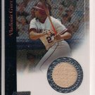 VLADIMIR GUERRERO 2004 BOWMAN STERLING GAME USED BAT CARD