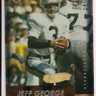 JEFF GEORGE RAIDERS 1999 EDGE FURY GOLD INGOT