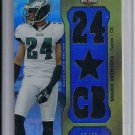 NNAMDI ASOMUGHA EAGLES 2011 TRIPLE THREADS JERSEY #'D 13/36!