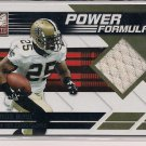 REGGIE BUSH 2011 DONRUSS ELITE POWER FORMULAS JERSEY