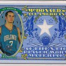 J.J. REDICK MAGIC 2006 BOWMAN MCDONALDS ALL AMERICAN JSY