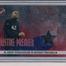 2001-02 PRISTINE JERRY STACKHOUSE PISTONS ALL-STAR WARM-UPS