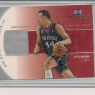 KEITH VAN HORN NETS 2002-03 UD MVP WARM-UP CARD