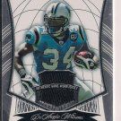 DEANGELO WILLIAMS PANTHERS 2009 BOWMAN STERLING JERSEY CARD