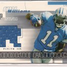 ROY WILLIAMS LIONS 2004 UPPER DECK FINITE ROOKIE FABRICS