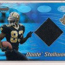 DONTE STALLWORTH 2002 BOWMAN'S BEST JERSEY CARD