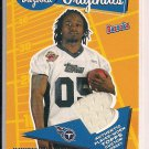 "ADAM ""PACMAN"" JONES TITANS 2005 BAZOOKA ORIGINALS ROOKIE JSY"