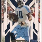 VINCE YOUNG TITANS 2010 EPIX JERSEY CARD