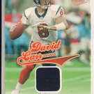 DAVID CARR TEXANS 2004 FLEER ULTRA GAME WORN JERSEY