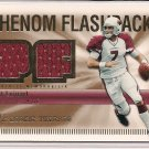 MATT LEINART 2007 SPX ROOKIE THREADS DUAL JERSEY