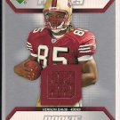 VERNON DAVIS 49ER&#39;S 2006 UPPER DECK ROOKIE FUTURES JERSEY