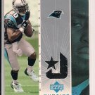 DESHAUN FOSTER PANTHERS 2002 UD OVATIONS JERSEY