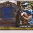 RUEBEN RANDLE GIANTS 2012 CROWN ROYALE ROOKIE ROYALTY JERSEY