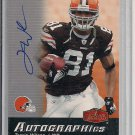 TRAVIS WILSON BROWNS 2006 FLAIR SHOWCASE AUTO CARD