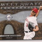 JERED WEAVER ANGELS 2009 SWEET SPOT JERSEY