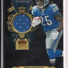 MIKEL LESHOURE LIONS 2011 CROWN ROYALE ROOKIE ROYALTY JERSEY