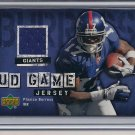 PLAXICO BURRESS GIANTS 2006 UPPER DECK GAME JERSEY