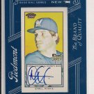 MAT GAMEL BREWERS 2009 TOPPS 206 PIEDMONT RC AUTO