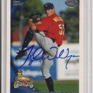 TYLER WALRDRON PIRATES 2010 TOPPS DEBUT AUTO