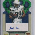 LADARIUS GREEN CHARGERS 2012 CROWN ROYALE SP RC SIG #'D11/49