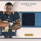 ISAIAH PEAD RAMS 2012 PANINI BLACK FRIDAY RC JERSEY