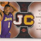 JAVARIS CRITTENTON LAKERS 2007 SPX DUAL ROOKIE THREADS