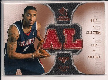 ACIE LAW IV 2007 SP ROOKIE THREADS JERSEY