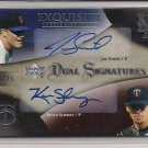 SMITH/SLOWEY 2007 EXQUISITE ROOKIE SIGNATURES #'D 08/35!