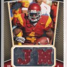 JOE MCKNIGHT USC 2010 SPX ROOKIE MATERIALS JERSEY